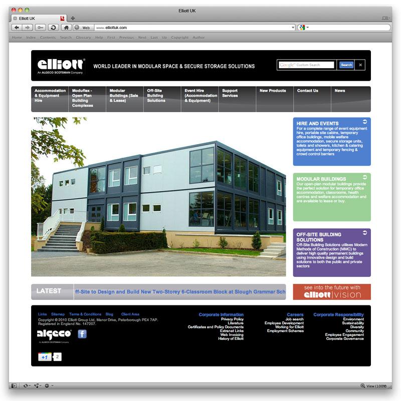 Elliott website